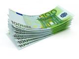Fototapete Geldschein - Euro - Geld / Kreditkarte