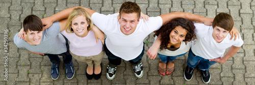 Leinwanddruck Bild freundschaft