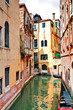 The architecture of the old Venice