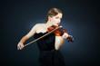 Gorgeous violinist
