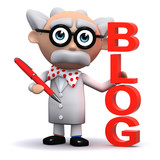 3d Mad Scientist wants you to read his brilliant blog poster