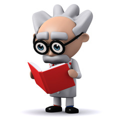 3d Mad Scientist reads the latest research