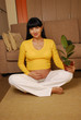 A la espera del futuro maternal.