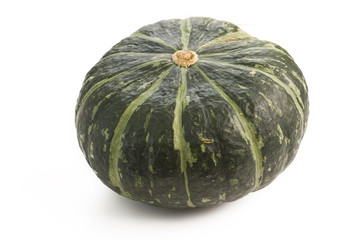 Winter squash isolated on white