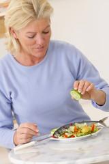 Alimentation d'une femme seule