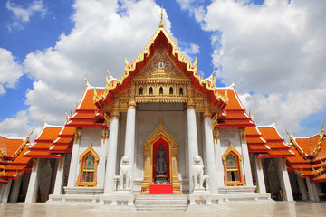 Beautiful church of temple in Thailand