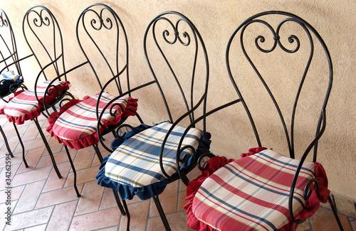 Sedie In Ferro Battuto Usate : Sedie ferro battuto usate u casamia idea di immagine