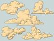 Vintage clouds - 34264722