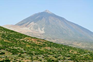 Mount Teide, in Teide National Park, Tenerife, Canary Islands, S