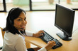 Customer Service Representative Alone Headset