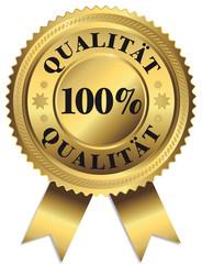 100% Qualität - Gütesiegel