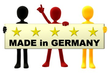 "Webeschild ""Made in Germany"""
