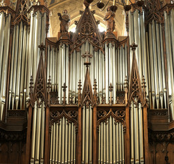 France - Organ of Chambéry Cathedral