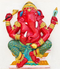 Indian or Hindu God Named Dhundhi Ganapati