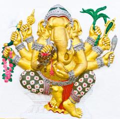 Indian or Hindu ganesha God Named Vighna Ganapati
