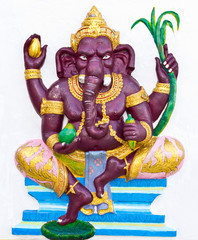 Indian or Hindu ganesha God Named Bala Ganapati
