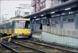8mm color film train Tokyo Japan 1