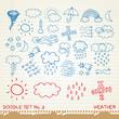 Doodle set 2 - weather