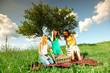 girlfriends on picnic
