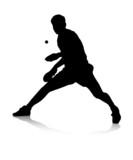 Fototapety Tischtennisspieler
