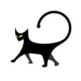 Gato creativo poster