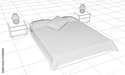 modelado cama