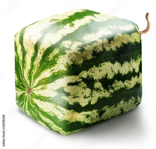 Cubic watermelon