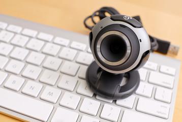 Web Camera on Wireless Keyboard