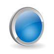 BLUE WEB BUTTON (template vector 3d shiny internet click here)