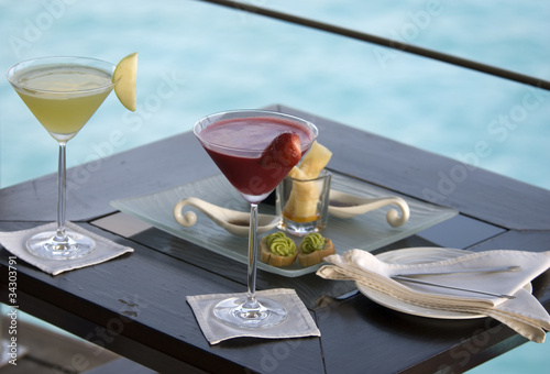 Aperitive on the lagoon