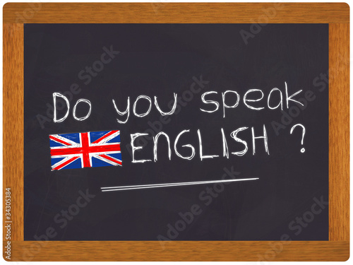 Ardoise - Do you speak english ?