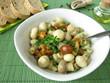 Pilzsalat mit Champignons und Stockschwämmchen