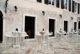 Fototapeta Italian street cafe