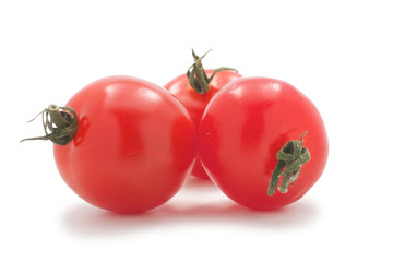 Three cherry tomato