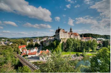 Blick zum Schloß Sigmaringen