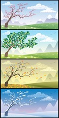 Seasons Landscapes