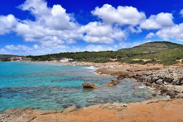 Sardegna: Alghero, spiaggia delle Bombarde