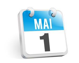 1. Mai , Kalender