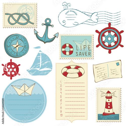 Картинки скрапбукинг море
