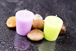 Lavender and Lemon Bath Time Sceneted Aroma Candles