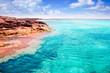 Formentera Illetes island turquoise tropical sea