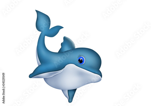 Plexiglas Dolfijnen Dolphin. Delphin
