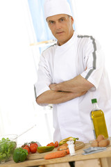 Chef cuisinier-portrait