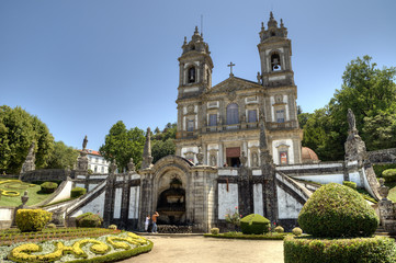 Bom Jesus Garden, Braga, Portugal.