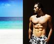 Fototapeta Model - Plaża - Mężczyzna