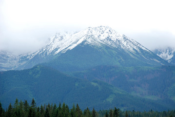 Mountains view, High Tatras, Slovakia