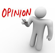 Person Sharing Opinion Offering Feedback or Criticism