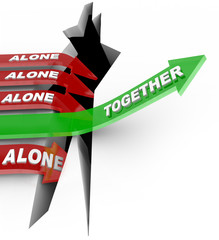 Working Together Beats Alone - Strength in Numbers