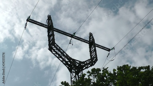 Electric current line