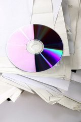 optical disc and paper